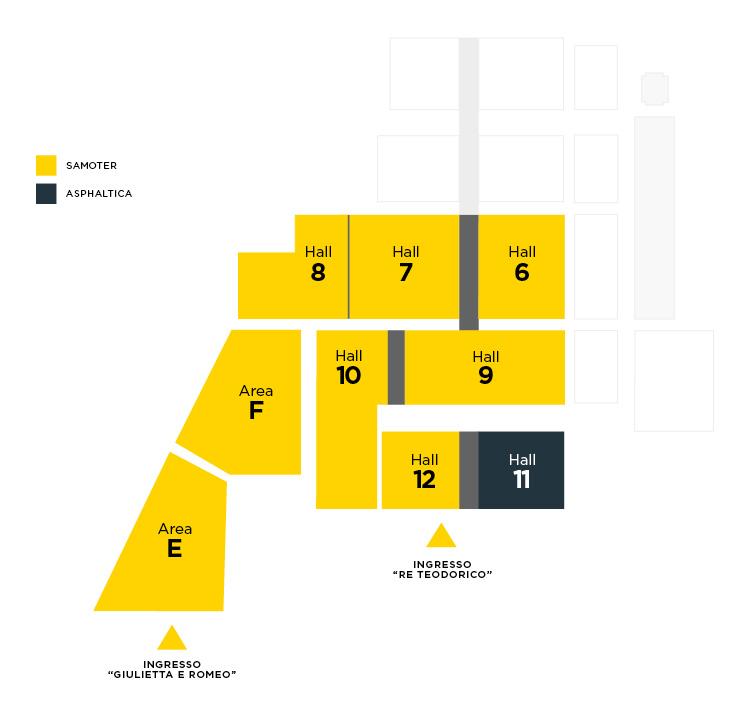 Asphaltica 2020 - Mappa del quartiere